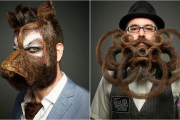 Những bộ râu thắng giải tại cuộc thi World Beard And Mustache 2017