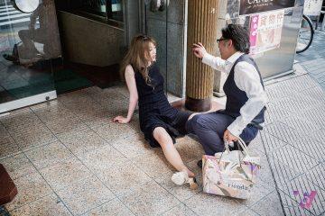 Những hình ảnh về những người nghiện rượu tại Nhật Bản
