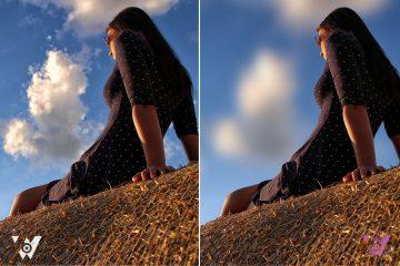 Tạo hiệu ứng độ sâu trường cho hình ảnh đơn giản trong Photoshop