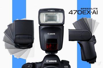 Canon ra mắt Speedlite 470EX-AI: Đèn Speedlite đầu tiên trên thế giới có công nghệ AI Bounce