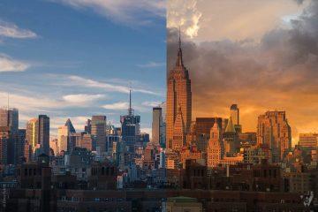 Xem tính năng thay thế bầu trời bằng AI trong phần mềm Luminar