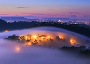 Cách chụp ảnh biển mây vào ban đêm